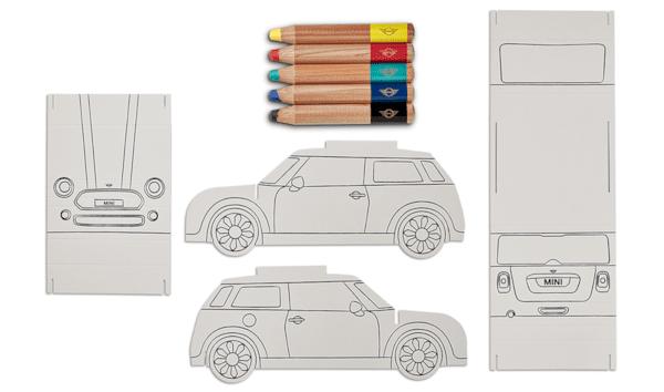 MINI сглобяема книжка за оцветяване